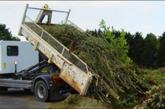 Enlèvements des déchets verts Ouest Lyonnais